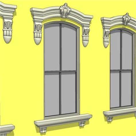 Window Corbels Neoclass Window 3d Model Formfonts 3d Models Textures