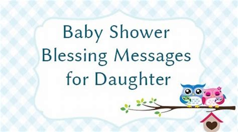 Baby Shower Message by Baby Shower Blessing Messages For