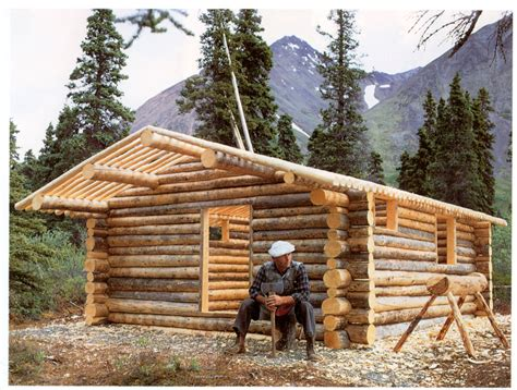 build a log cabin i wanna be proenneke when i grow up a write smart