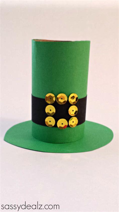 Leprechaun Paper Craft - leprechaun hat toilet paper roll craft for st