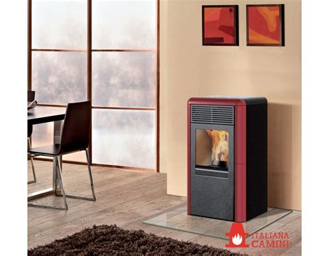 italiana camini point stufa a pellet point italiana camini bordeaux 8 kw