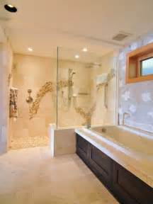 Ideas For Doorless Shower Designs Doorless Shower Home Design Ideas Pictures Remodel And Decor