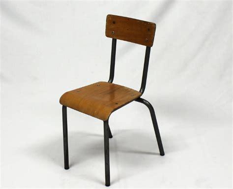 chaise enfant vintage 233 cole 233 es 60 70 le vintage dans