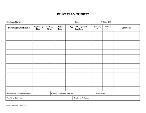 driver schedule template driver daily log sheet template business forms