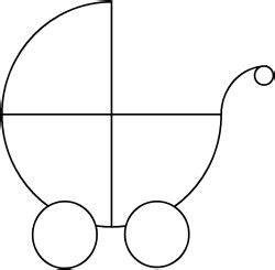 coloring pages baby carriage carriage coloring picture to pin on pinterest thepinsta