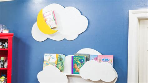 how to diy cloud bookshelf home family hallmark