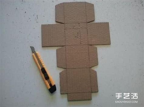 artikel membuat kubus dari karton 硬纸板手工制作儿童存钱罐的方法步骤图解 手艺活网