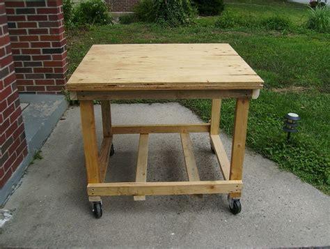 rolling work bench plans rolling workbench diy home design ideas