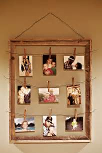 tutorial tuesday clothespin picture frame