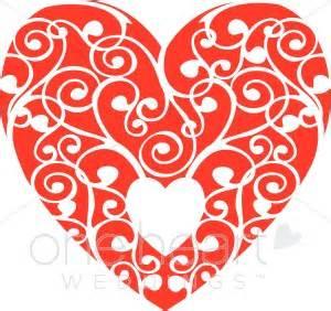 Purple Wedding Programs Red White Heart Clipart Heart Clipart