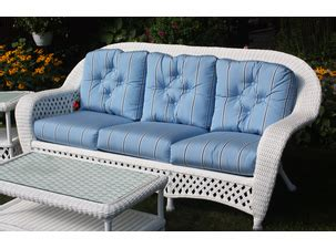montauk sofa for sale wicker furniture lloyd flanders replacement cushions for