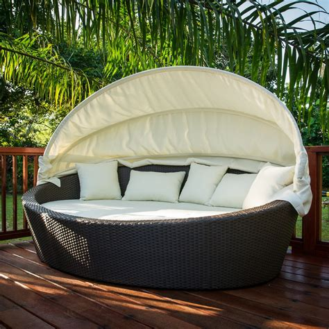 Outdoor Daybed Mattress How To Build A Patio Daybed In A Cover Home Design By Fuller