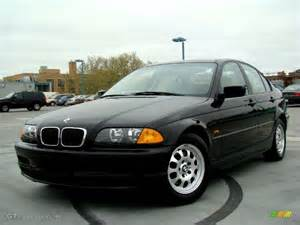 jet black 1999 bmw 3 series 323i sedan exterior photo