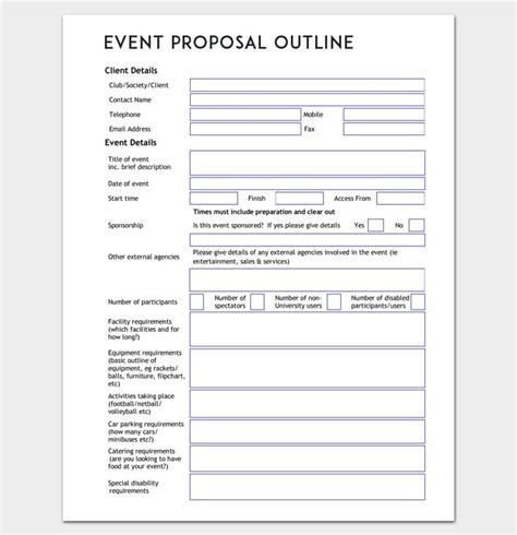 25 best event proposal ideas on pinterest what event
