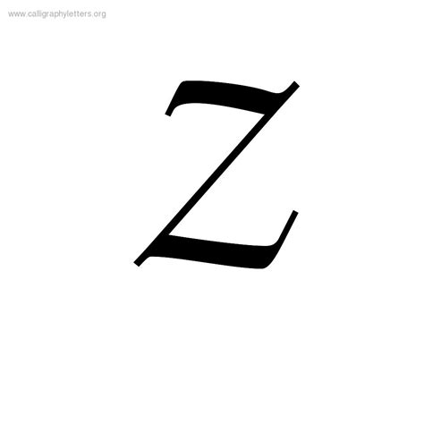 Letter Z calligraphy letter z www pixshark images galleries