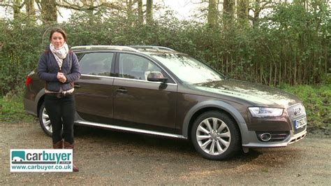 Review Audi A4 2013 by Audi A4 Allroad Estate 2013 Review Carbuyer Youtube