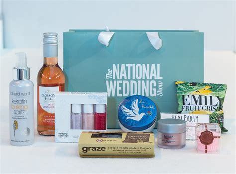 Win A 800 Vip Goodie Bag by Win A Vip Goody Bag Tickets To The National Wedding Show