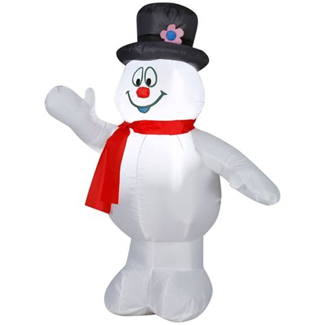 frosty the snowman 3 5 airblown inflatable yard home