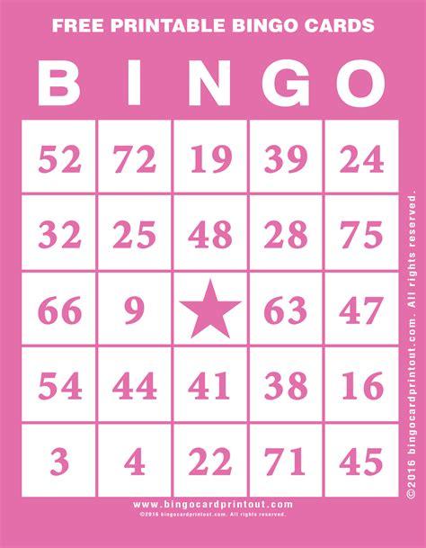 printable gratis free printable bingo cards bingocardprintout com