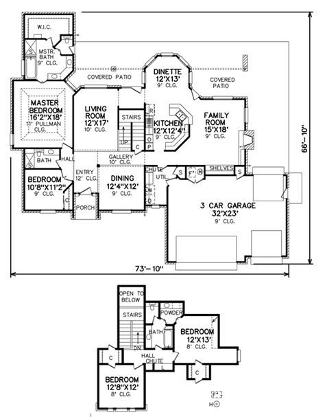 perry home plans floor plan 7206