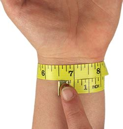 Therapy Wristbands for Men & Women & Kids. Measure for Wrist Band Sizes.