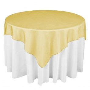 Square Organza Gold 72 in square satin overlay runners table runners and squares