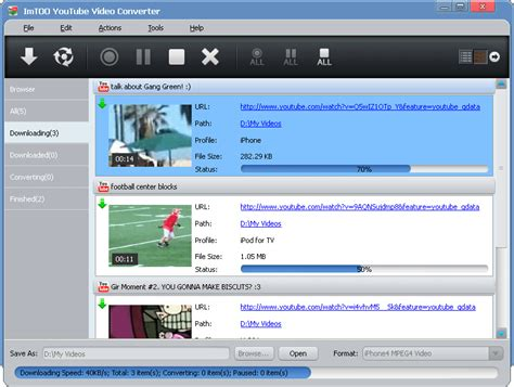 download youtube xvid youtube video converter by imtoo flv in avi blog