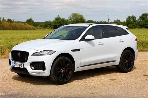 jaguar f pace 4x4 2016 photos parkers
