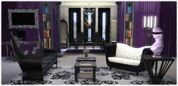 Gothic Bedroom Sets gothic glamour living room and home office collection