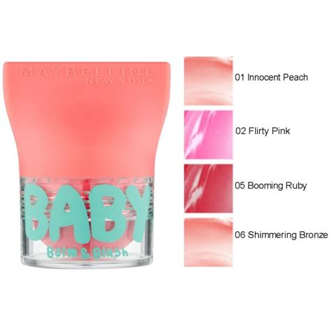 Maybelline Newyork Baby Glow Balm maybelline baby balm and blush