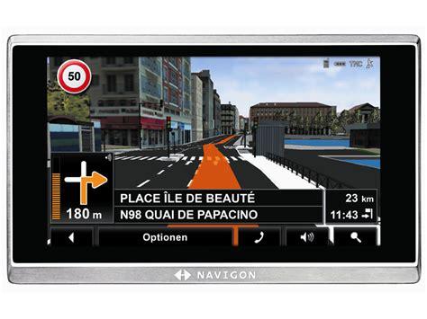 navigon europe 4 1 2 navigon 8410 navigationsger 228 t mit real city 3d dvb t computer bild
