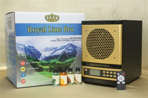 2017 royal line pro 174 living fresh air purifier w ecoquest plates alpine ionizer ebay