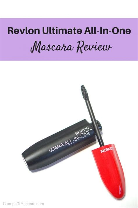 Revlon Ultimate All In One Mascara revlon ultimate all in one mascara review clumps of mascara