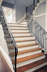 Iron Stairs Design Wrought Iron Stair Railings Process And Design