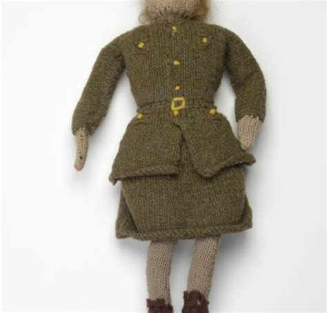 army knitting pattern knitted 1940s ats doll knitting history forum