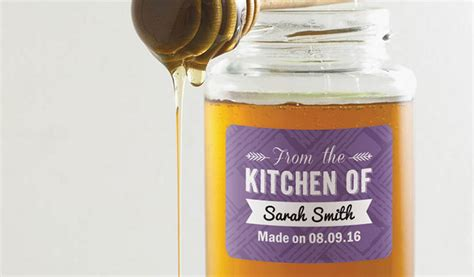 design your own honey label custom honey labels and jar labels stickeryou products