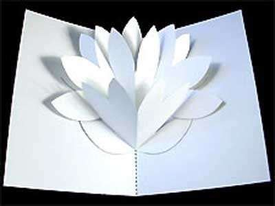 Mamam Pop Up Card Templates by Diy Flower Pop Up Card 4 S Day Free Papercraft