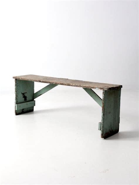 primitive wood bench antique primitive wood bench 86 vintage