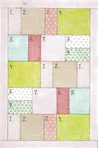 Simple Quilting Ideas by Easy Quilt Pattern By Reessy Craft Ideas
