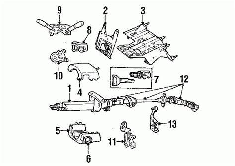 2002 jeep liberty parts diagram parts 174 jeep liberty steering column assembly oem parts