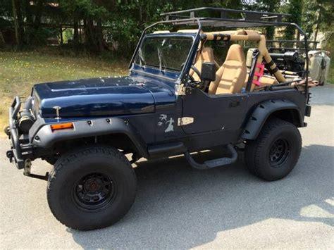 1991 jeep wrangler yj 4x4 lifted auto restorationice