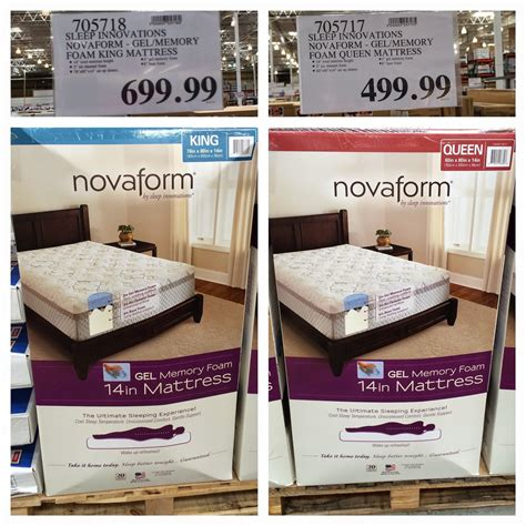 Novaform Mattress Box by The Costco Connoisseur Buy Your New Mattress At Costco