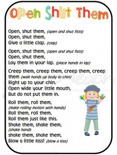 preschool songs fingerplays 25 fingerplay ideas for playful preschoolers