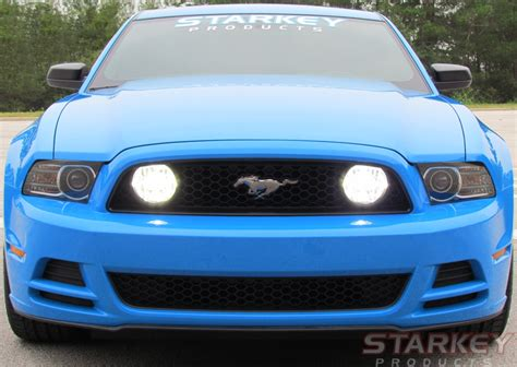 2014 Mustang Lights by Mustang Gt Style Led Fog Light Kit Fits V6 And 302