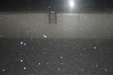 glitter countertop silver sparkle granite look at the flecks in this stuff isn t it heavenly my