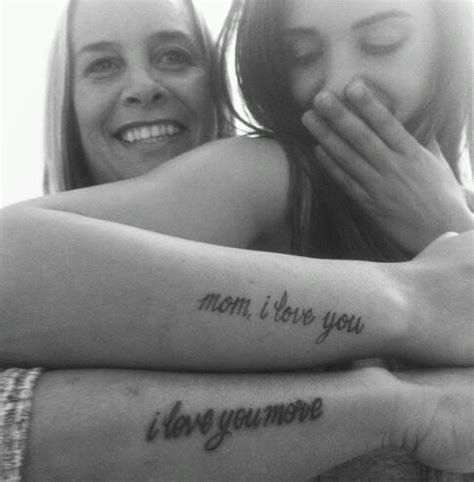 tattoo love one another cute mother daughter tattoos or for anyone who loves one