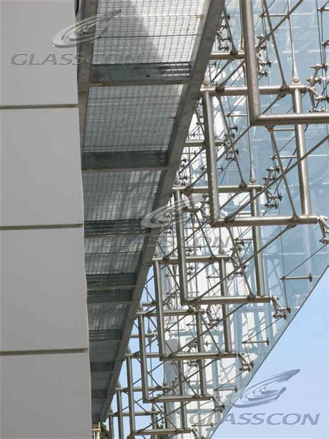 structural curtain wall shipping company architectural building envelope