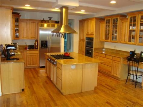 golden oak cabinets with wood floors golden oak flooring in kitchens trying to decide w