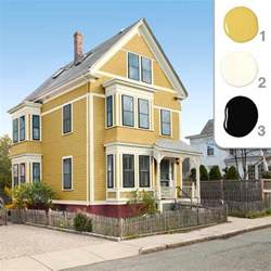 house paint color schemes the winning yellow scheme picking the exterior