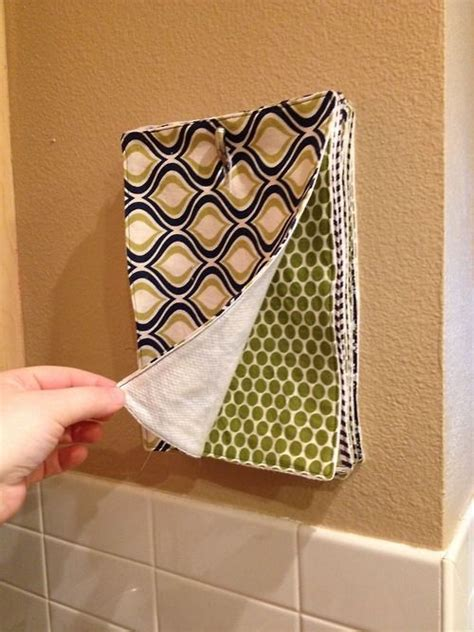 Make Your Own Paper Towels - no more paper towels make your own reusable ones